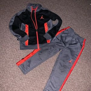 Boys Jordan athletic set
